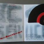 C4Service - First Burst - vinyl disc design and gatefold cover