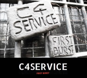C4service First Burst Powder Shed Recs PSR001 CD-Frontcover